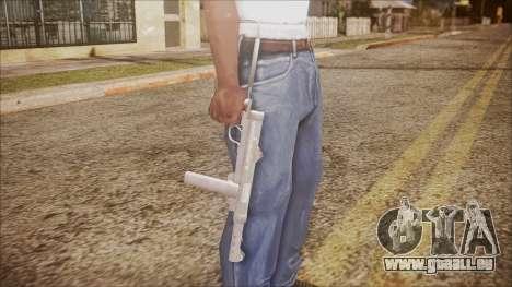 M45 from Battlefield Hardline pour GTA San Andreas troisième écran