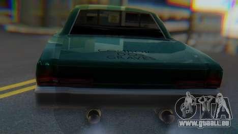 Dodge Dart Coupe pour GTA San Andreas vue de droite
