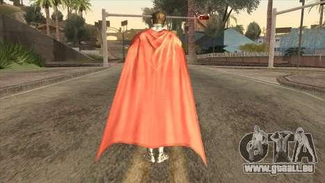 Superman Cyborg v2 pour GTA San Andreas troisième écran