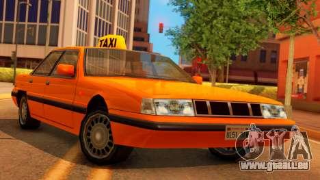 Taxi Intruder pour GTA San Andreas