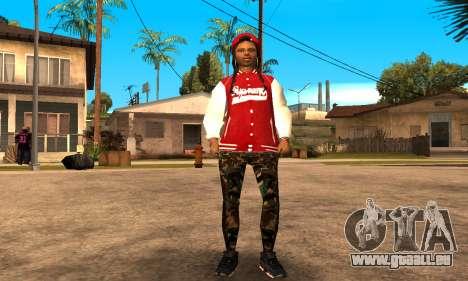 Army Girl pour GTA San Andreas