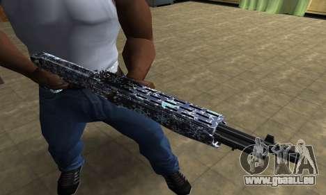 Snowflake Combat Shotgun für GTA San Andreas dritten Screenshot
