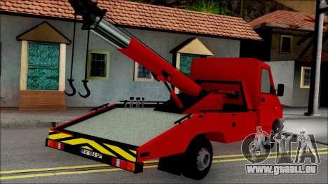 Zastava Daily Towtruck pour GTA San Andreas laissé vue