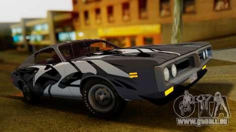 Dodge Charger Super Bee 426 Hemi (WS23) 1971 IVF pour GTA San Andreas salon