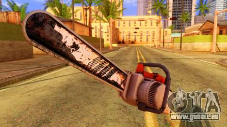 Atmosphere Chainsaw für GTA San Andreas