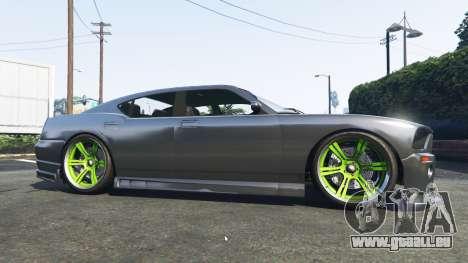 Bravado Buffalo Dodge Charger pour GTA 5