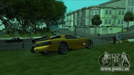 ZR-350 Double Lightning pour GTA San Andreas vue de côté
