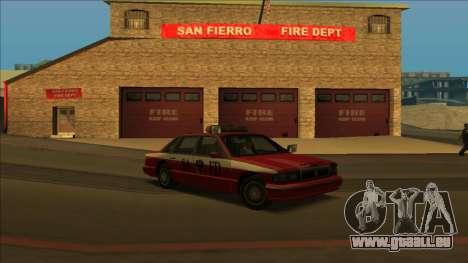 FDSA Premier Cruiser pour GTA San Andreas laissé vue