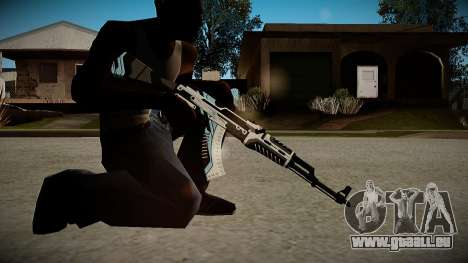 AK-47 Vulcan pour GTA San Andreas troisième écran