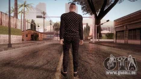 Skin1 from DLC Gotten Gaings pour GTA San Andreas troisième écran