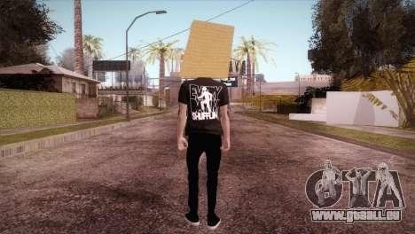LMFAO Robot pour GTA San Andreas troisième écran