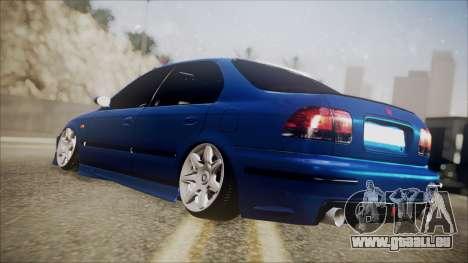 Honda Civic, La B. O. De La Construction pour GTA San Andreas laissé vue