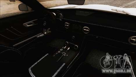Mercedes-Benz SLS AMG 2013 für GTA San Andreas obere Ansicht