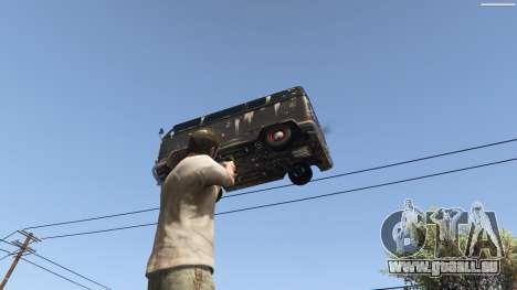 GTA 5 Gravity Gun 1.5 neunter Screenshot