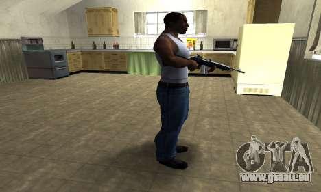Full Black Rifle pour GTA San Andreas troisième écran