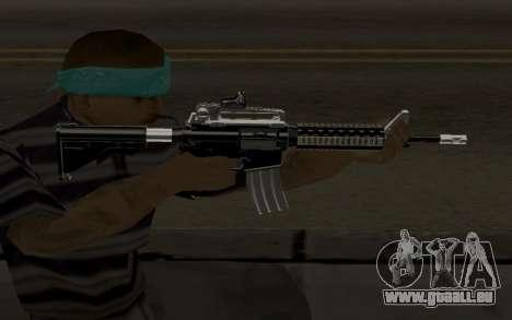 Weapon Pack pour GTA San Andreas cinquième écran