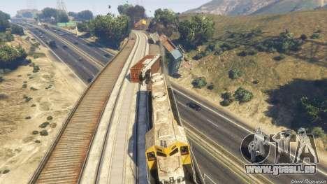 GTA 5 Railroad Engineer 3 dixième capture d'écran