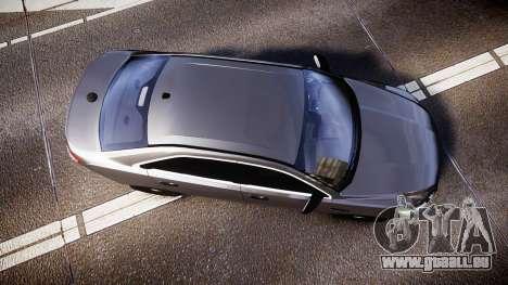 Ford Taurus 2010 Unmarked Police [ELS] für GTA 4 rechte Ansicht