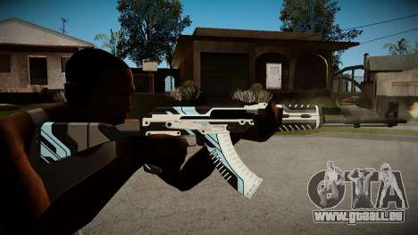 AK-47 Vulcan pour GTA San Andreas deuxième écran