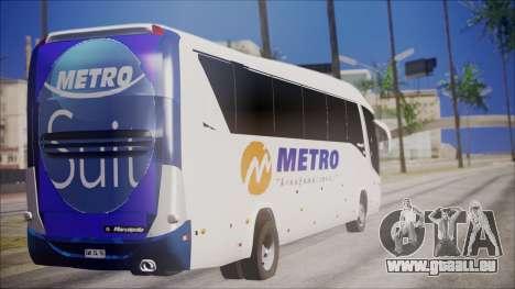 Marcopolo Metro Suit für GTA San Andreas linke Ansicht