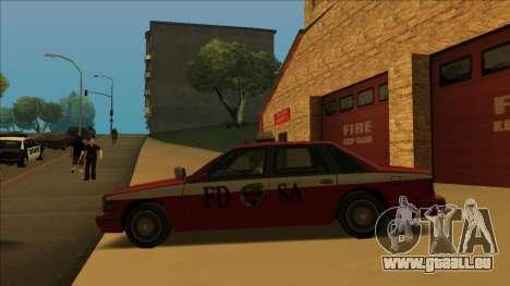 FDSA Premier Cruiser pour GTA San Andreas salon