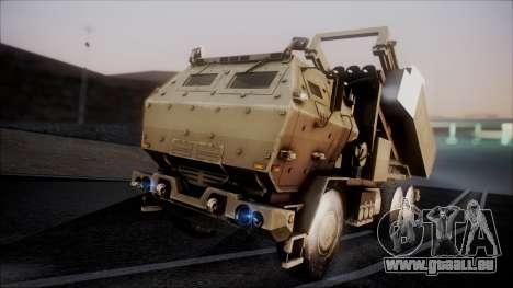 M142 HIMARS Desert Camo pour GTA San Andreas