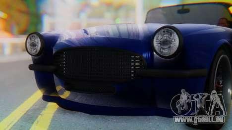 Invetero Coquette BlackFin v2 GTA 5 Plate pour GTA San Andreas salon