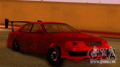 Toyota Mark 2 100 für GTA San Andreas linke Ansicht