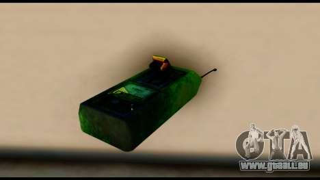 Brasileiro Bomb Detonator pour GTA San Andreas deuxième écran