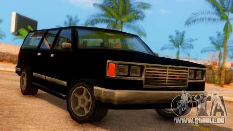 FBI 4-door Yosemite pour GTA San Andreas