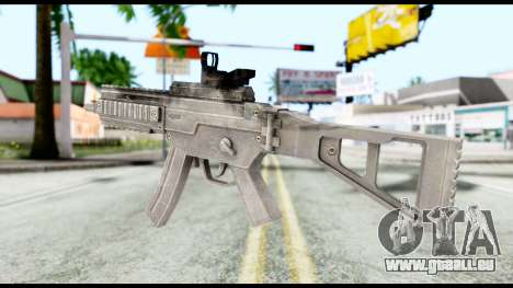 MP5 from Resident Evil 6 für GTA San Andreas zweiten Screenshot