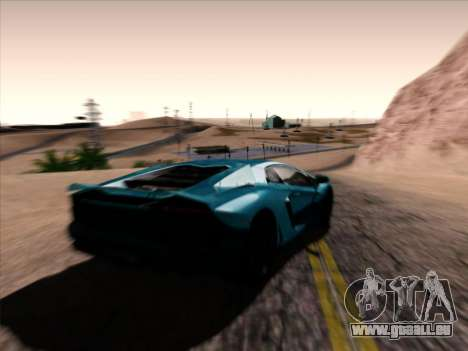 Jungles ENB v1.0 pour GTA San Andreas deuxième écran
