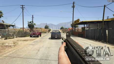 GTA 5 BF4 AR160 sechster Screenshot