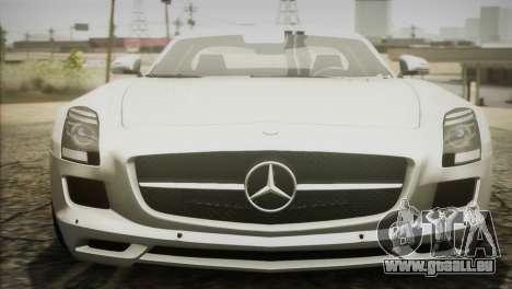 Mercedes-Benz SLS AMG 2013 für GTA San Andreas rechten Ansicht