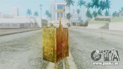 Red Dead Redemption Detonator pour GTA San Andreas deuxième écran