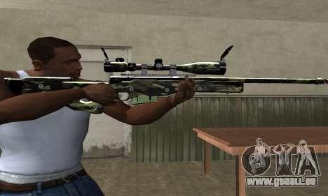 Lithy Sniper Rifle pour GTA San Andreas troisième écran