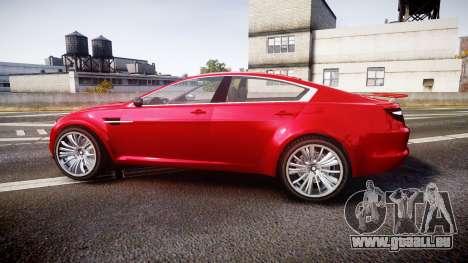 GTA V Ocelot Jackal liberty city plates für GTA 4 linke Ansicht