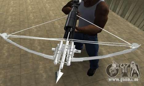 Crossbow pour GTA San Andreas troisième écran