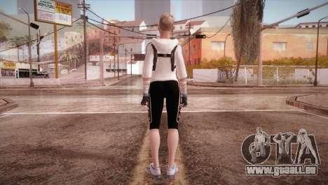 Endurance Cassie Cage from Mortal Kombat X pour GTA San Andreas troisième écran