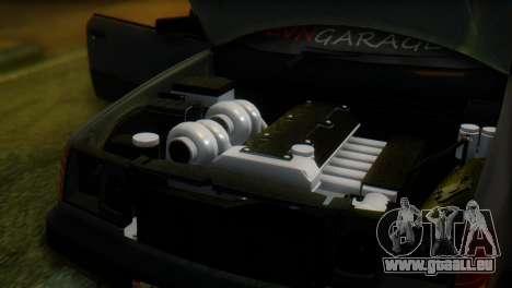 Mercedes-Benz W124 für GTA San Andreas Rückansicht