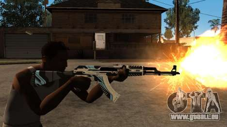 AK-47 Vulcan für GTA San Andreas her Screenshot