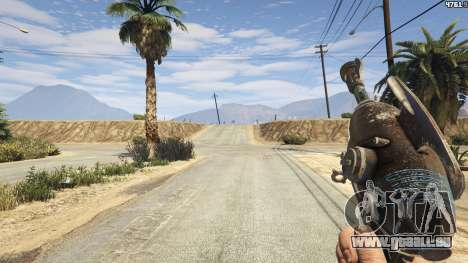 GTA 5 Fallout 3: Alien Blaster dritten Screenshot