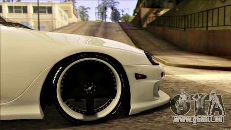 Toyota Supra 1998 E-Design für GTA San Andreas Rückansicht
