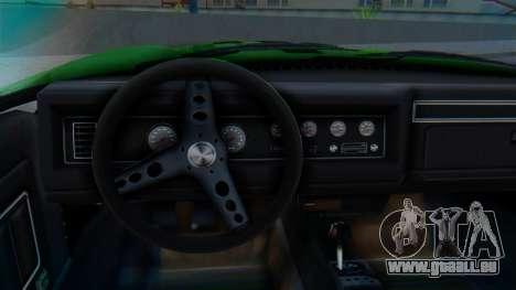 Invetero Coquette BlackFin v2 GTA 5 Plate pour GTA San Andreas vue de droite
