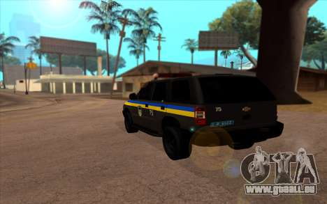 Chevrolet Blazer Berkut pour GTA San Andreas laissé vue