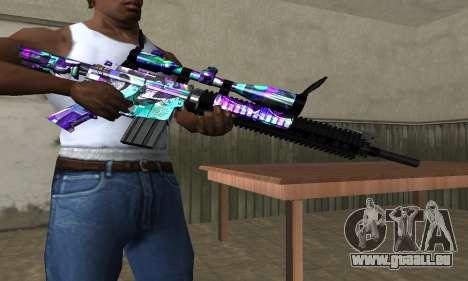 Automatic Sniper Rifle für GTA San Andreas