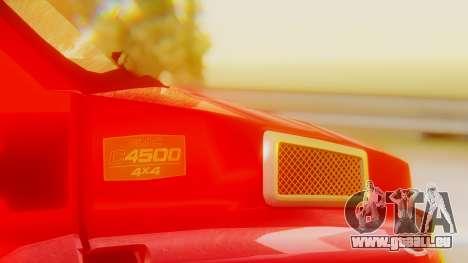 GMC Topkick C4500 pour GTA San Andreas vue de côté
