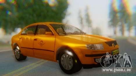 Samand Taxi pour GTA San Andreas