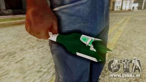 GTA 5 Broken Bottle v1 pour GTA San Andreas deuxième écran