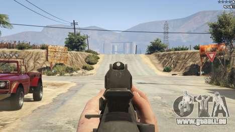 GTA 5 BF4 AR160 septième capture d'écran